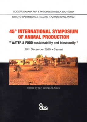 45° INTERNATIONAL SYMPOSIUM OF ANIMAL PRODUCTION, EDES, IANNETTA M., ET AL.